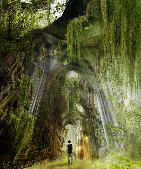 Path To Inner Peace Print by Karen H