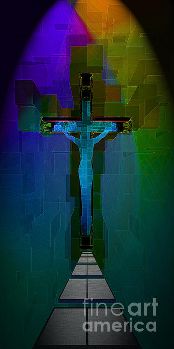 Path To Salvation Print by Larry Guterson