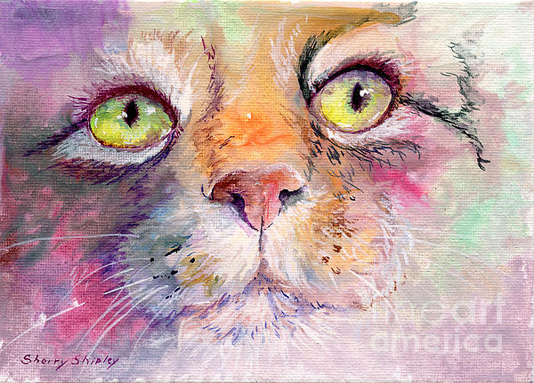 Patience Print by Sherry Shipley