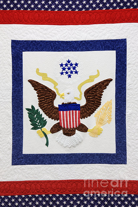 Patriotic Quilt Print by Jeremy Woodhouse