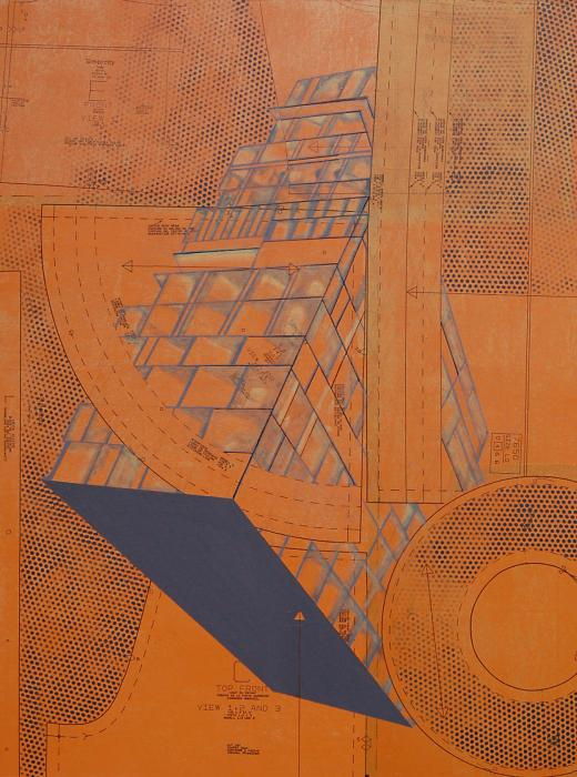Patterns Series Number Five Print by Sonja Olson