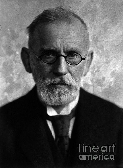 Paul Ehrlich, German Immunologist Print by Science Source