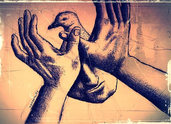 Peace Of Mind Print by Paulo Zerbato