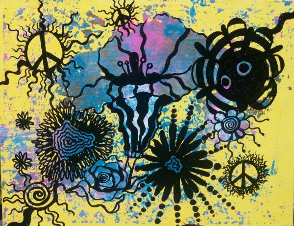 Peace Pole Print by Tara Shuey