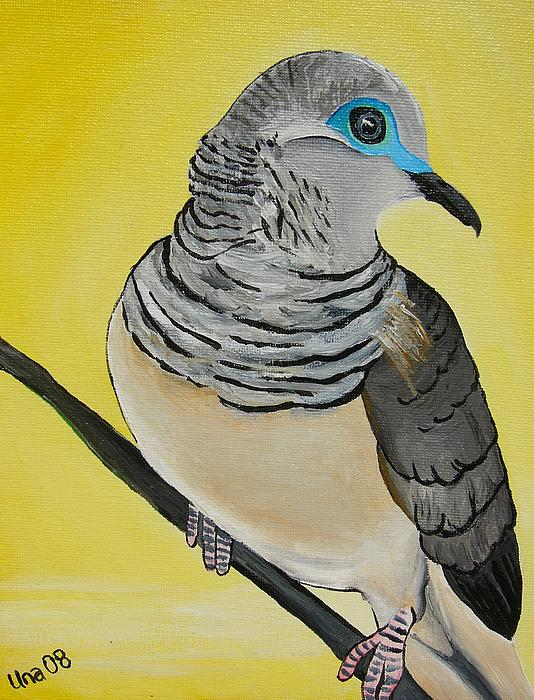 Peaceful Dove  Painting  - Peaceful Dove  Fine Art Print