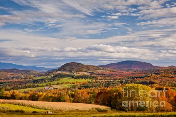 Susan Cole Kelly - Peacham Autumn Sky