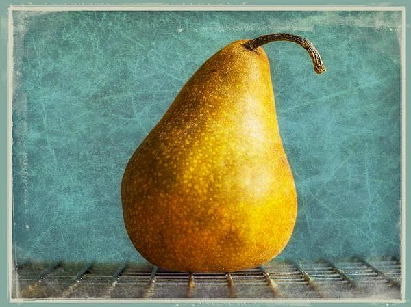 Pear Print by Cathie Tyler