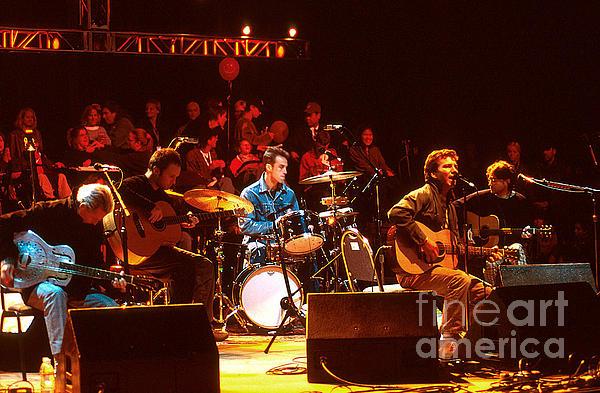 Pearl Jam Bridge Benefit Print by Stephen Miner