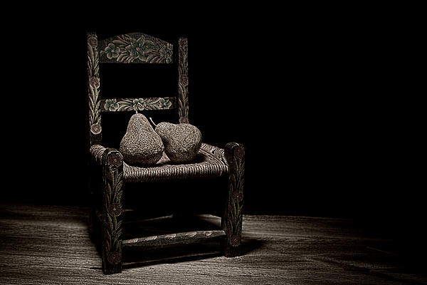 Pears On A Chair II Print by Tom Mc Nemar