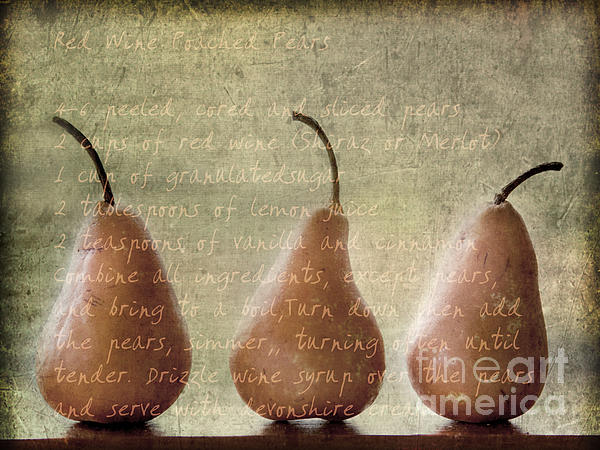 Pears To Be Print by Linde Townsend