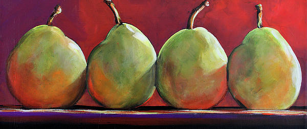 Peartastic Print by Toni Grote