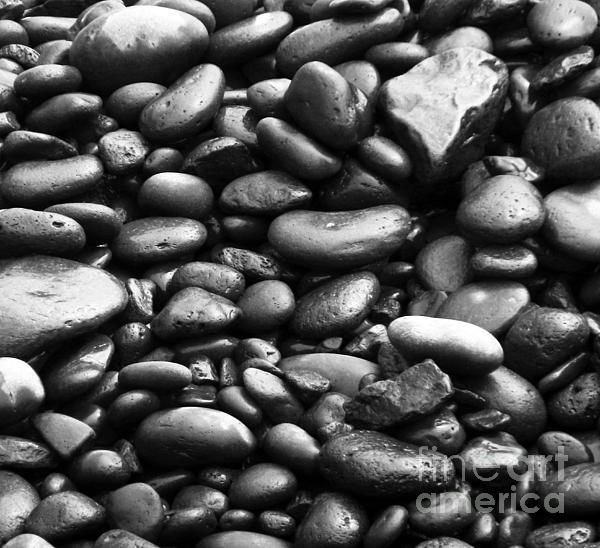 Pebbles Print by Alexandra Jordankova