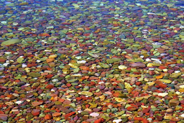 Pebbles Print by Marty Koch