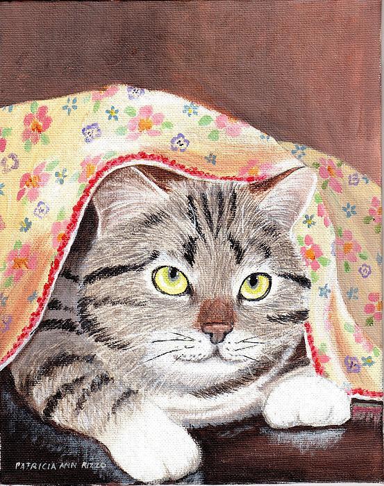 Patricia Ann Rizzo - Peek A Boo Cat