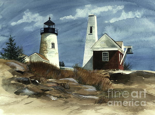 Nancy Patterson - Pemaquid Point Lighthouse