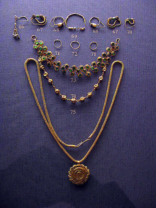 Pendant With Bracelet Print by Andonis Katanos