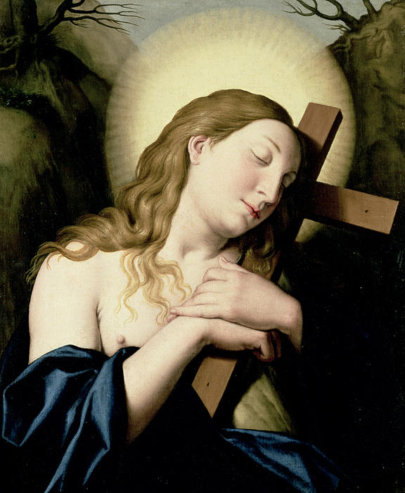 Penitent Magdalene Print by Il Sassoferrato