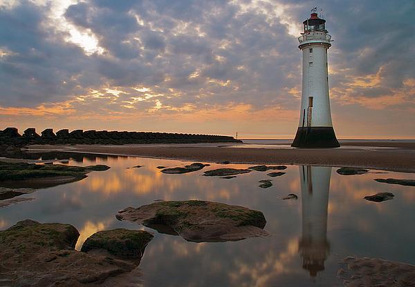 Perch Rock Lighthouse Print by Wayne Molyneux