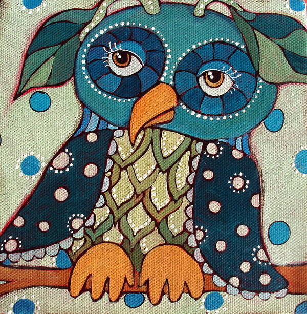 Perched Print by Suzanne Drolet
