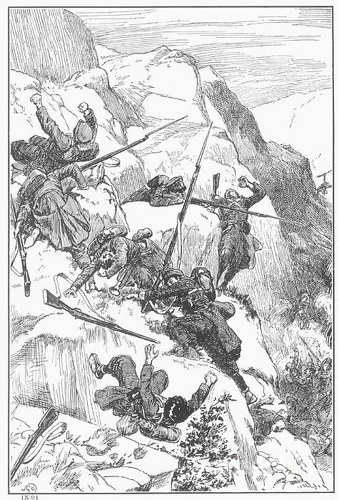 Peru: Battle Of Ayacucho Print by Granger