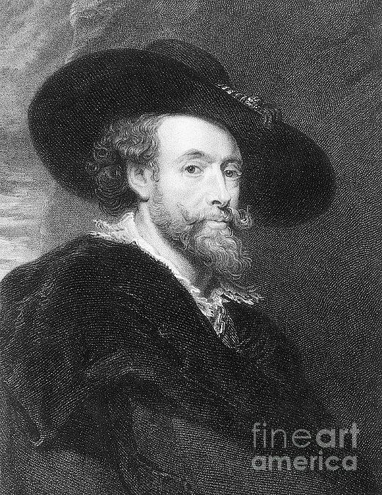 Peter Paul Rubens Print by Granger