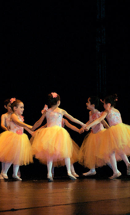 Margie Avellino - Petite Ballerinas in Yellow