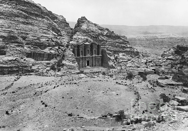 Petra, Jordan Print by Photo Researchers