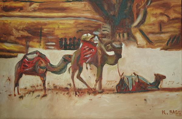 Petra Print by Keith Bagg
