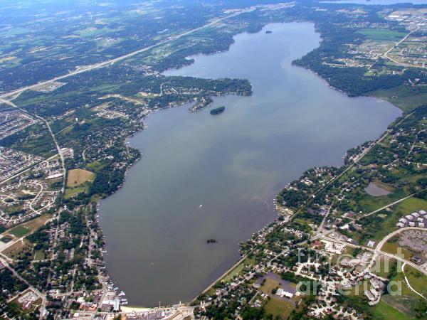 Bill Lang - Pewaukee Lake in Waukesha County Wisconsin