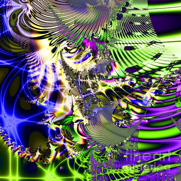 Phantasm . Square Print by Wingsdomain Art and Photography