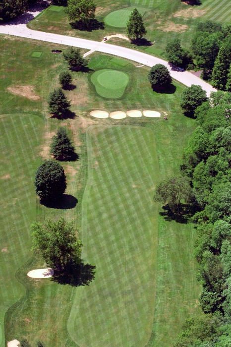 Philadelphia Cricket Club St Martins Golf Course 3rd Hole 415 West Willow Grove Ave Phila PA 19118 Photograph