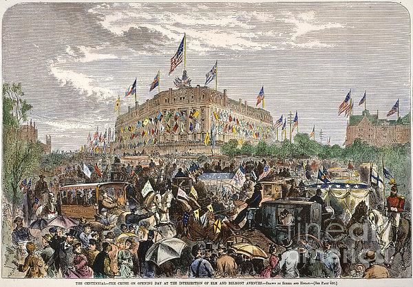 Philadelphia Expo, 1876 Print by Granger