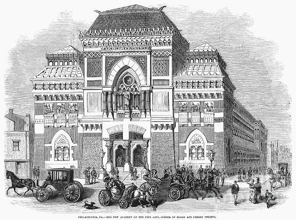 Philadelphia: Museum, 1876 Print by Granger
