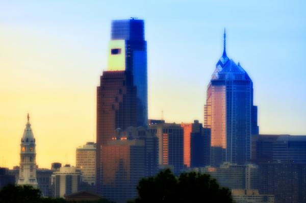 Philly Morning Print by Bill Cannon