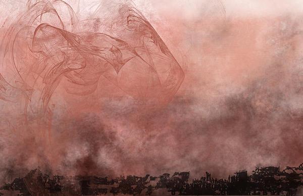 Phoenix Rising Print by Christopher Gaston
