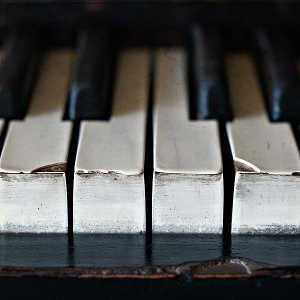 Piano Keys Print by Julie Rideout
