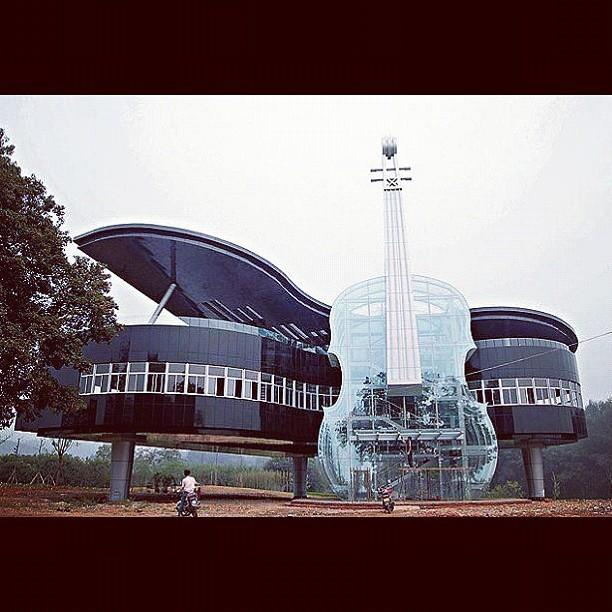 Piano Violin House In China Piano By Ben Armstrong