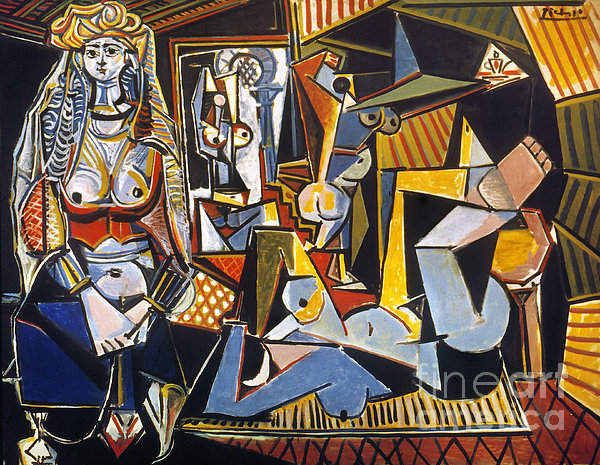 Picasso: Women Of Algiers Photograph