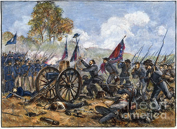 Picketts Charge, 1863 Print by Granger