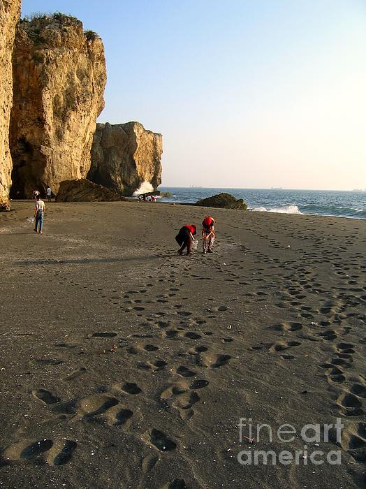 Yali Shi - Picking Shells on the Beach