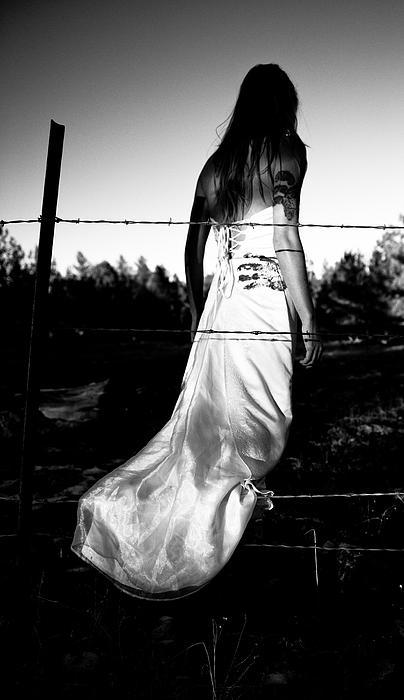 Pierced Dress Print by Scott Sawyer