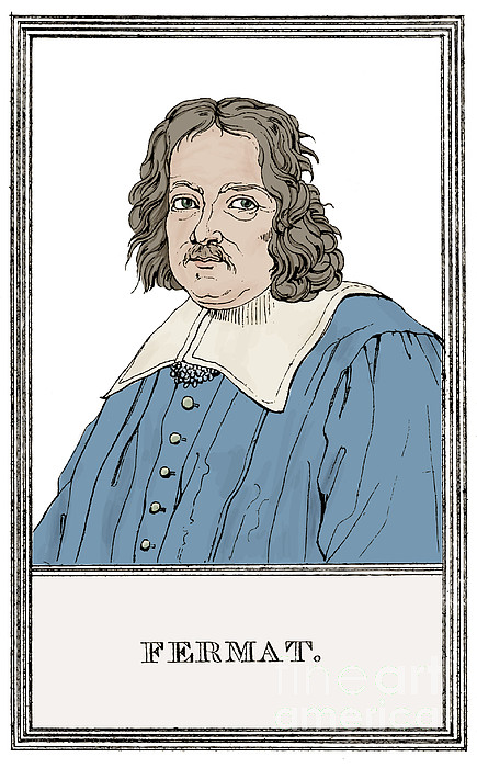 Pierre De Fermat, French Mathematician Print by Science Source
