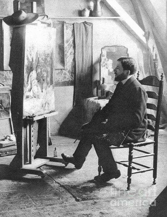 Piet Mondrian (1872-1944) Print by Granger