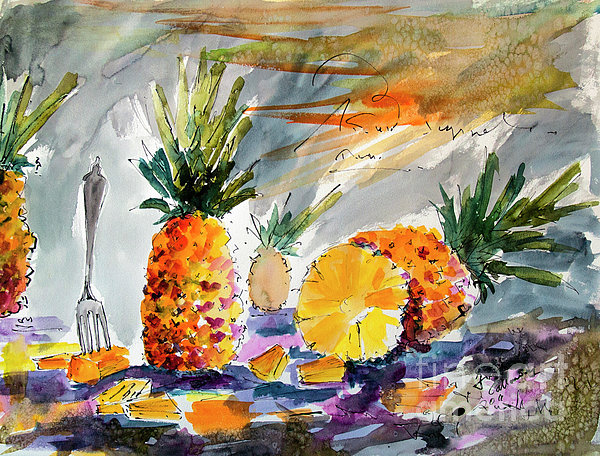 Ginette Callaway - Pineapples Still Life
