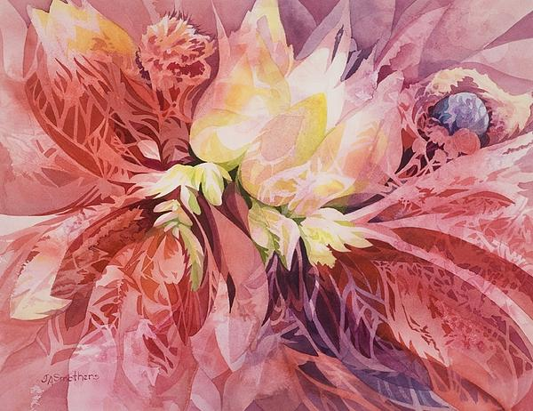Judith A Smothers - Pink Flora