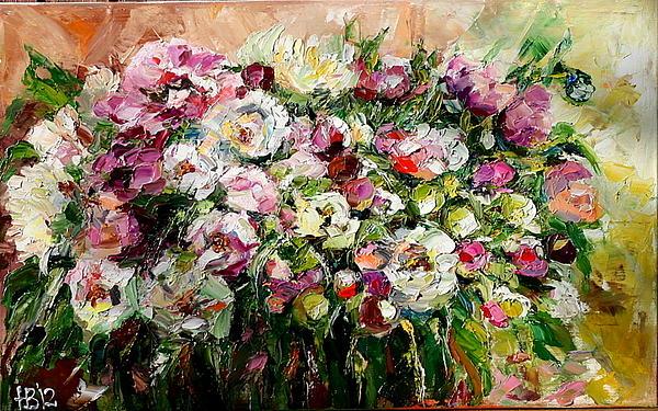 Natalia Veneva - Pink Flowers