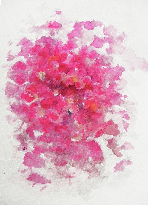 Pink Rose Print by Rachel Christine Nowicki