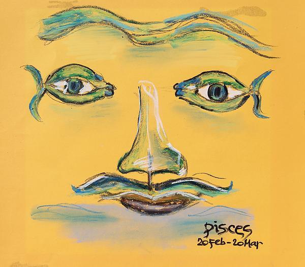 Pisces Print by Sladjana Endt
