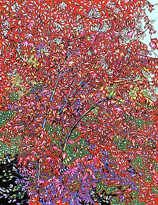 Pistache Tree Print by Nadi Spencer