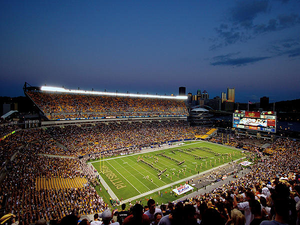 Pittsburgh Heinz Field At Dusk Print by Will Babin